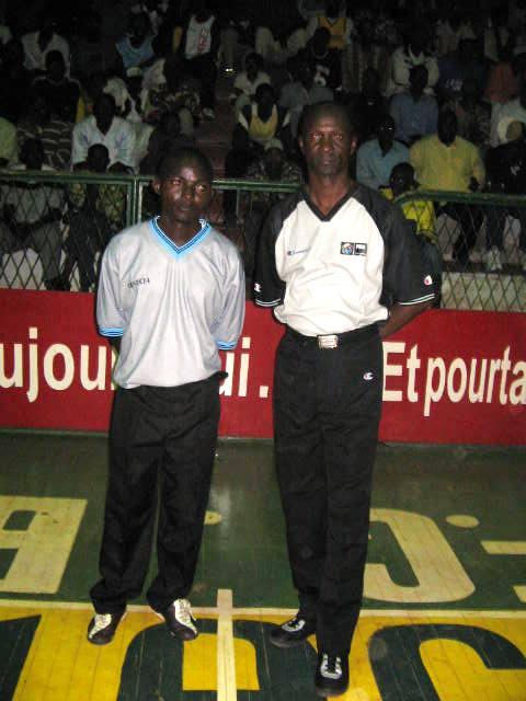 Le tandem arbitral Balezou - Mbokoli