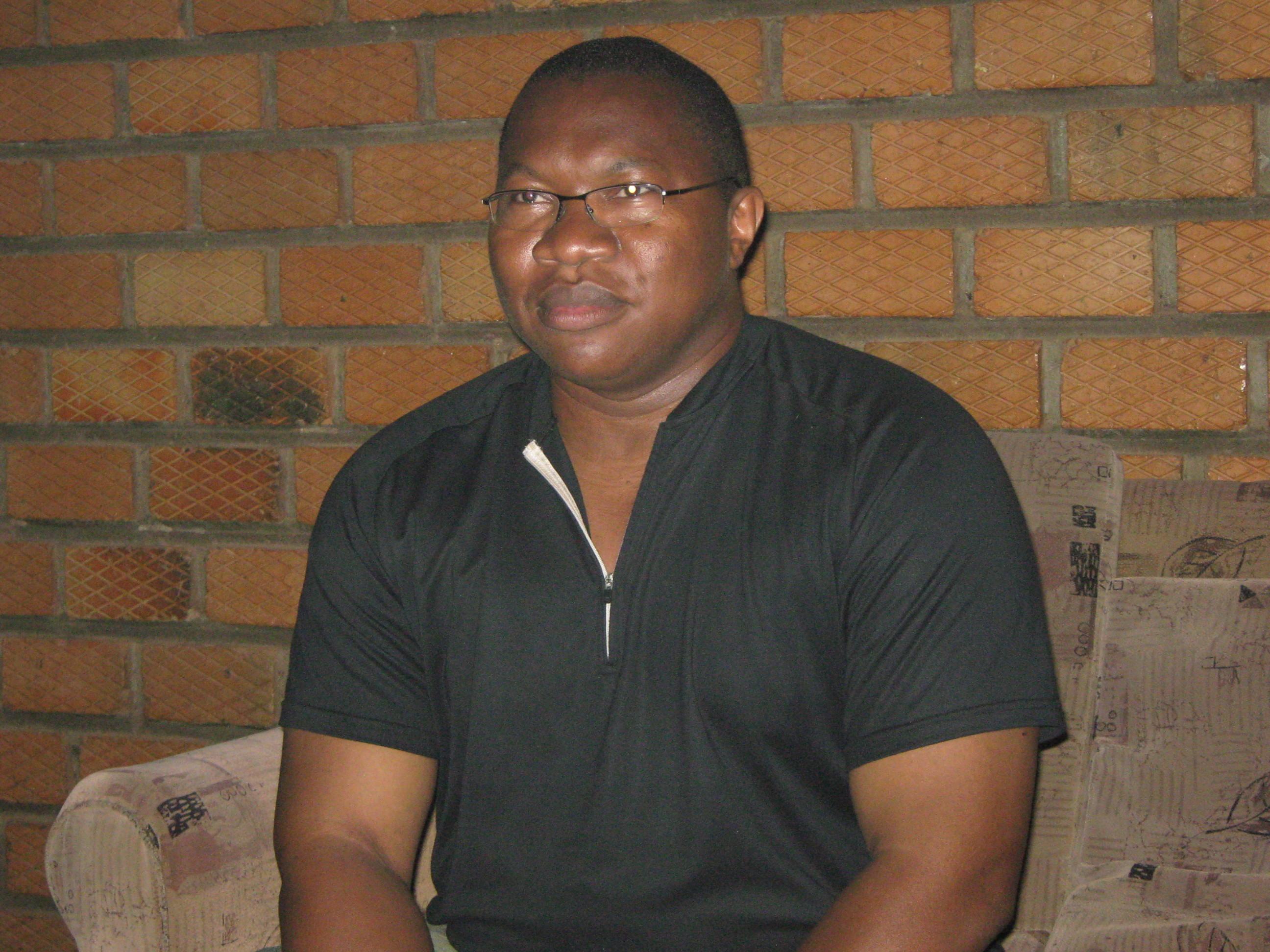 Alpha WILLYBIRO ZOLI Président de l'A.S.MAZANGA