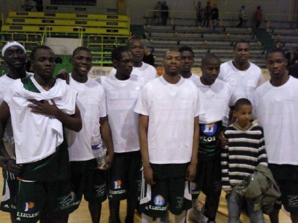 Les fauves de l'afrobasket2009
