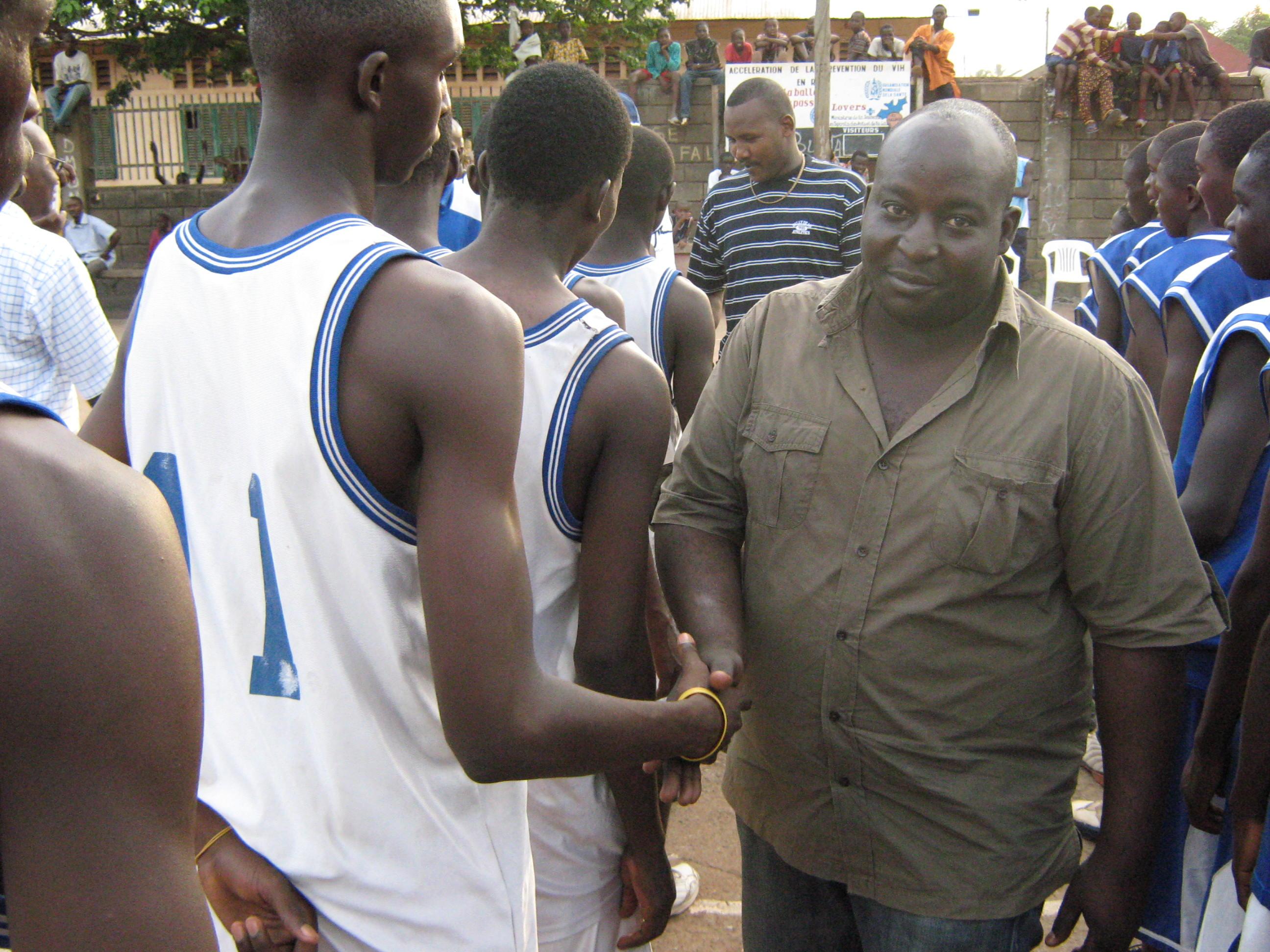 DAN MOUSSA Vice président de l'AS MAZANGA