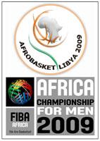 Logo officiel Afrobasket2009