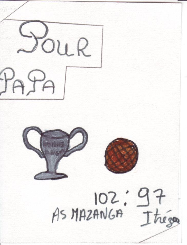Bonne Fête des pères amoureux du Basketball et de l'ASMAZANGA