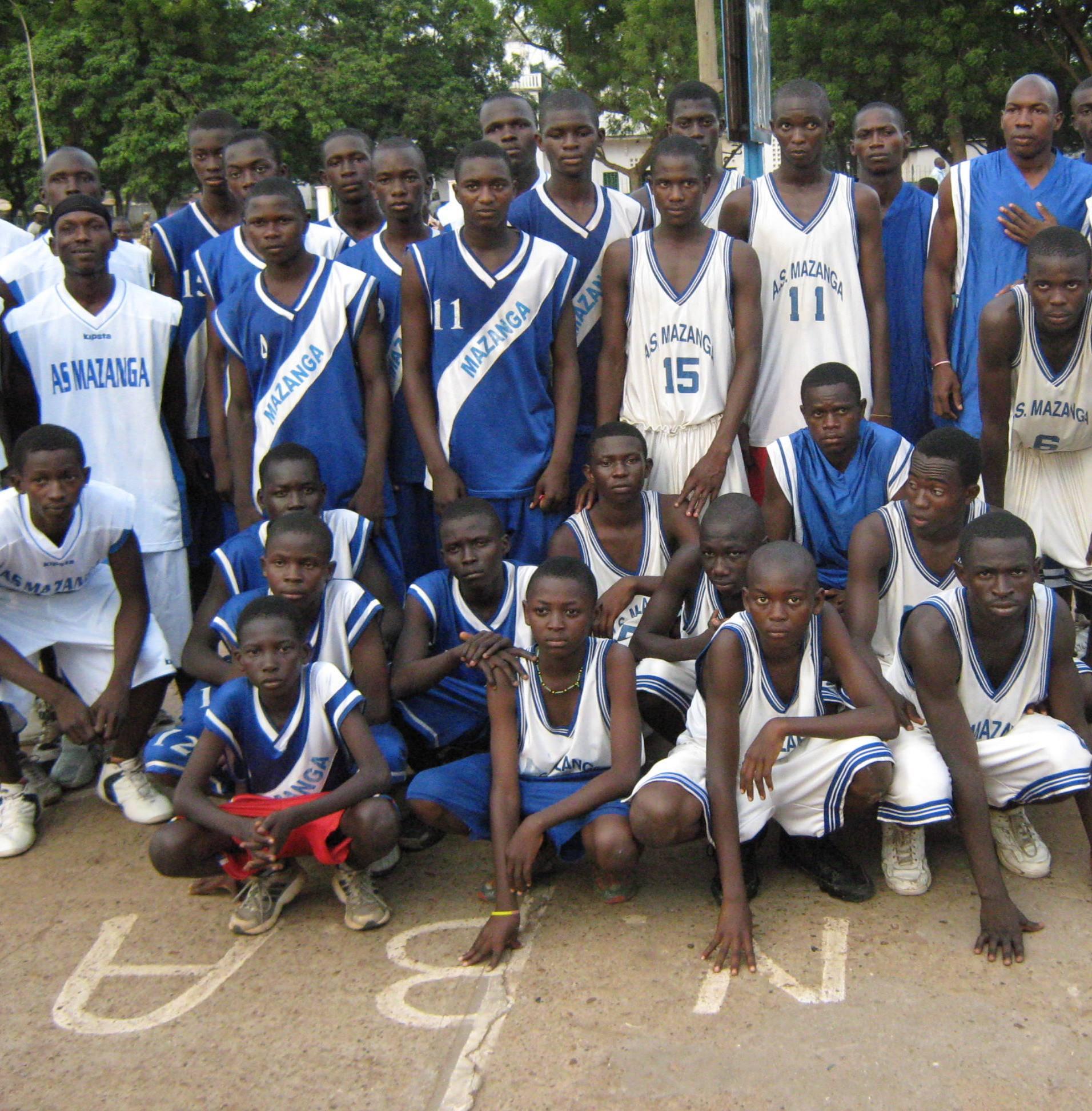 Mazanga espoirs 2009