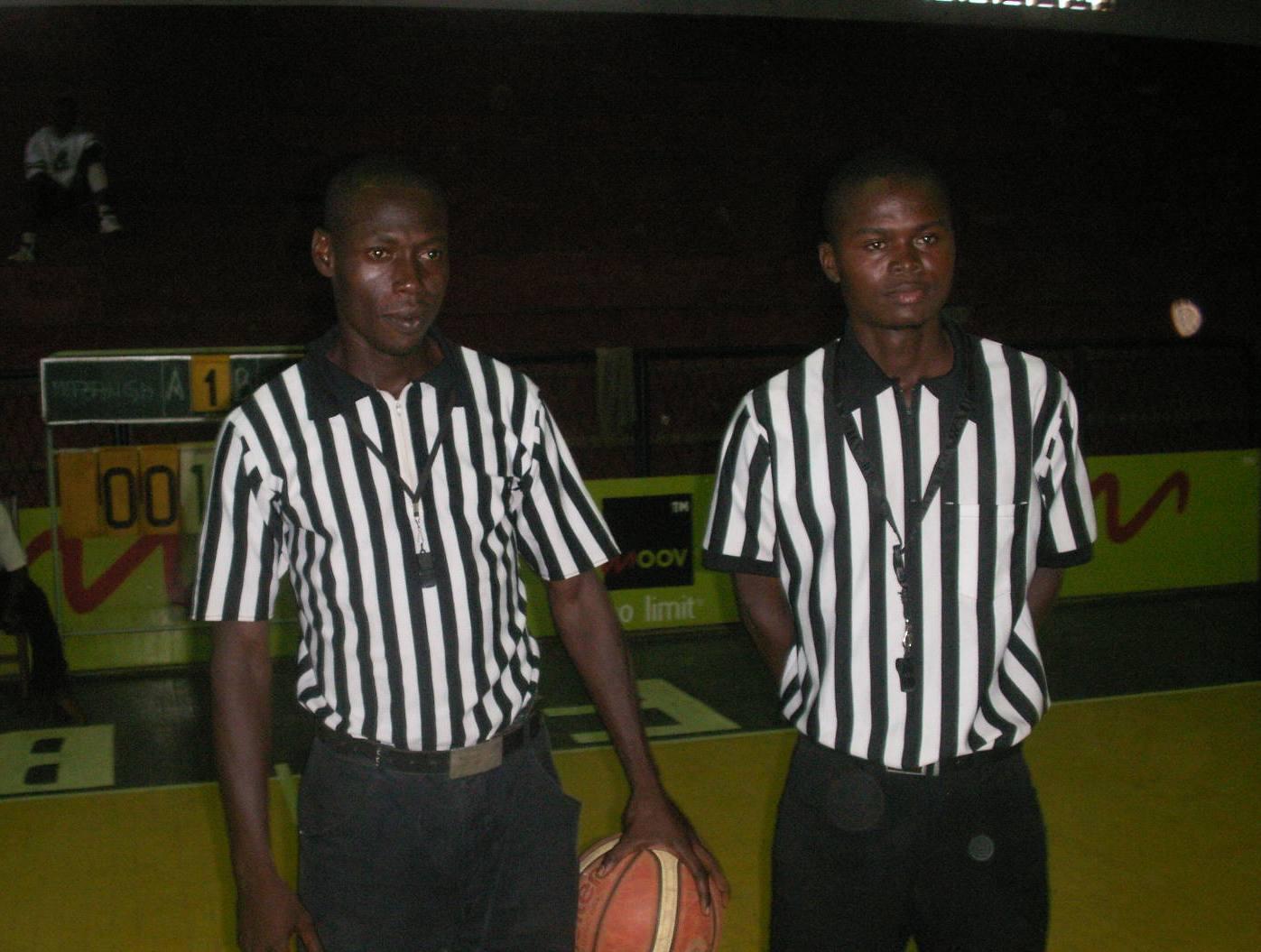 Arbitres nationaux de la ligue de Bangui