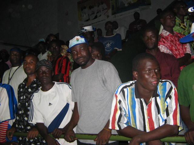 Le public centrafricain